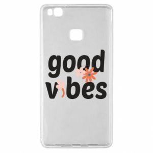 Etui na Huawei P9 Lite Good vibes flowers