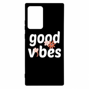 Samsung Note 20 Ultra Case Good vibes flowers