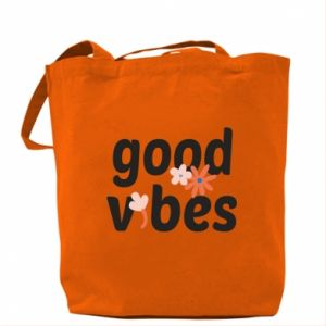 Torba Good vibes flowers