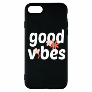 Etui na iPhone 7 Good vibes flowers