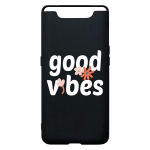 Etui na Samsung A80 Good vibes flowers