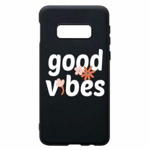 Etui na Samsung S10e Good vibes flowers