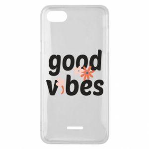 Etui na Xiaomi Redmi 6A Good vibes flowers