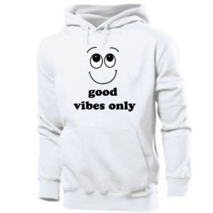 Męska bluza z kapturem Good  vibes only