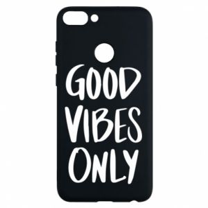 Huawei P Smart Case GOOD VIBES ONLY