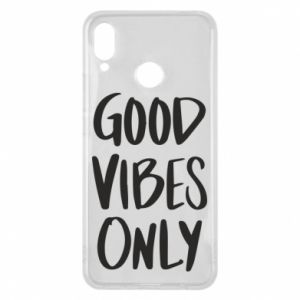 Huawei P Smart Plus Case GOOD VIBES ONLY