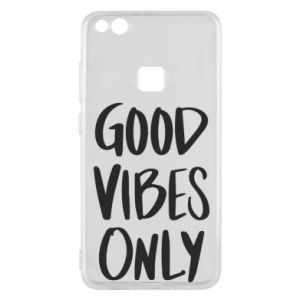 Huawei P10 Lite Case GOOD VIBES ONLY