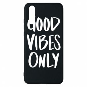 Etui na Huawei P20 GOOD VIBES ONLY