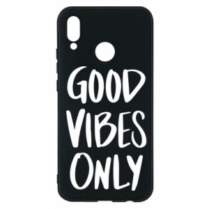 Huawei P20 Lite Case GOOD VIBES ONLY