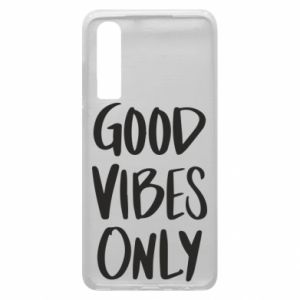 Huawei P30 Case GOOD VIBES ONLY