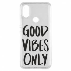 Xiaomi Mi A2 Case GOOD VIBES ONLY
