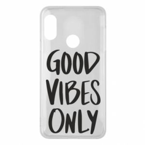 Etui na Mi A2 Lite GOOD VIBES ONLY