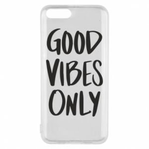 Etui na Xiaomi Mi6 GOOD VIBES ONLY
