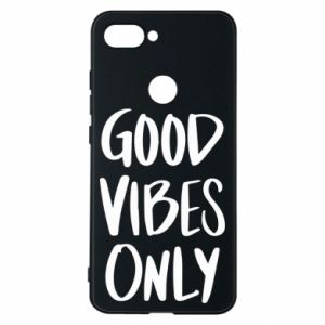 Xiaomi Mi8 Lite Case GOOD VIBES ONLY