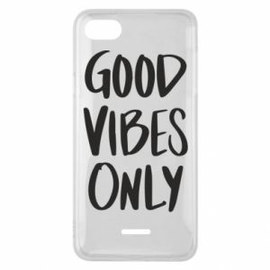 Xiaomi Redmi 6A Case GOOD VIBES ONLY