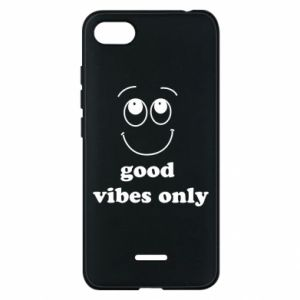 Etui na Xiaomi Redmi 6A Good  vibes only