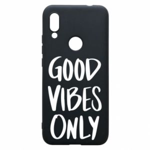 Etui na Xiaomi Redmi 7 GOOD VIBES ONLY