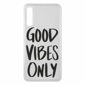Etui na Samsung A7 2018 GOOD VIBES ONLY