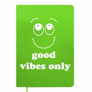 Notepad Good  vibes only