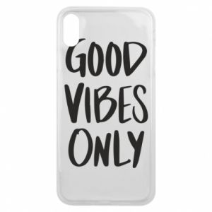 iPhone Xs Max Case GOOD VIBES ONLY