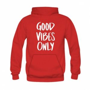 Kid's hoodie GOOD VIBES ONLY