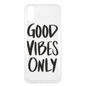 Xiaomi Redmi 9a Case GOOD VIBES ONLY