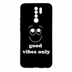 Xiaomi Redmi 9 Case Good  vibes only
