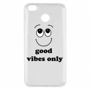 Xiaomi Redmi 4X Case Good  vibes only