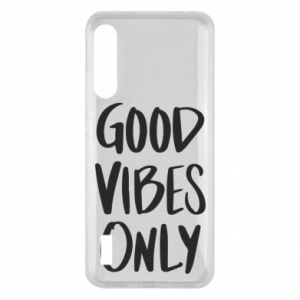 Xiaomi Mi A3 Case GOOD VIBES ONLY
