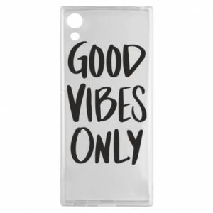 Sony Xperia XA1 Case GOOD VIBES ONLY