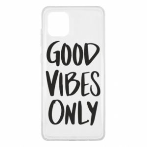Samsung Note 10 Lite Case GOOD VIBES ONLY