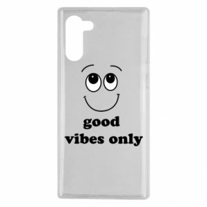 Samsung Note 10 Case Good  vibes only
