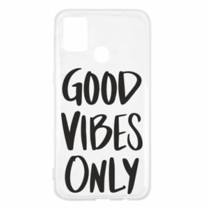 Samsung M31 Case GOOD VIBES ONLY