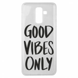 Samsung J8 2018 Case GOOD VIBES ONLY