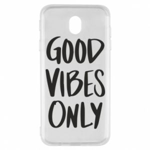 Samsung J7 2017 Case GOOD VIBES ONLY