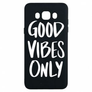 Samsung J7 2016 Case GOOD VIBES ONLY