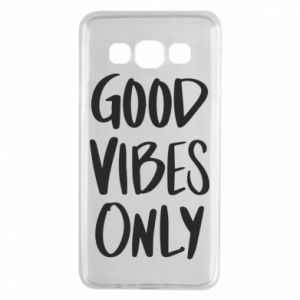 Samsung A3 2015 Case GOOD VIBES ONLY