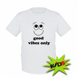 Kids T-shirt Good  vibes only