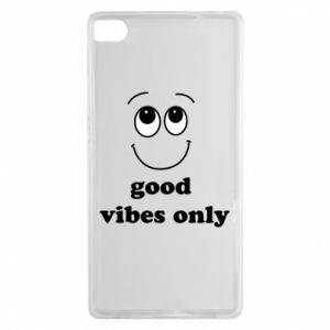 Huawei P8 Case Good  vibes only