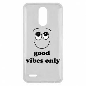 Lg K10 2017 Case Good  vibes only