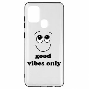 Samsung A21s Case Good  vibes only
