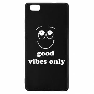 Huawei P8 Lite Case Good  vibes only