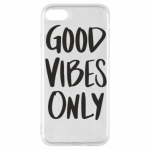 iPhone SE 2020 Case GOOD VIBES ONLY