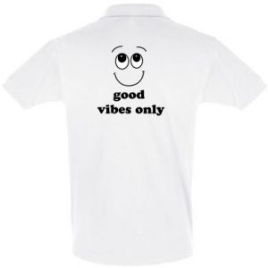 Men's Polo shirt Good  vibes only