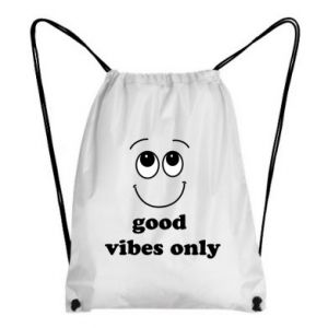 Backpack-bag Good  vibes only