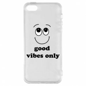 Etui na iPhone 5/5S/SE Good  vibes only