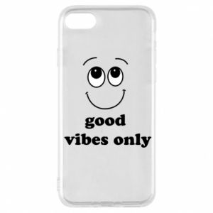 Etui na iPhone 7 Good  vibes only