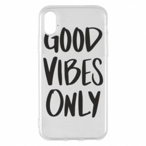 Etui na iPhone X/Xs GOOD VIBES ONLY