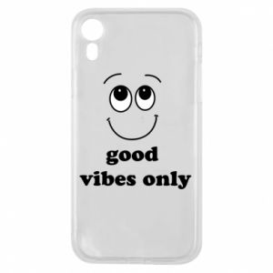 iPhone XR Case Good  vibes only