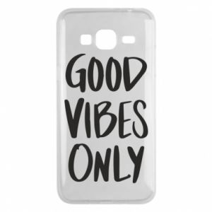 Etui na Samsung J3 2016 GOOD VIBES ONLY
